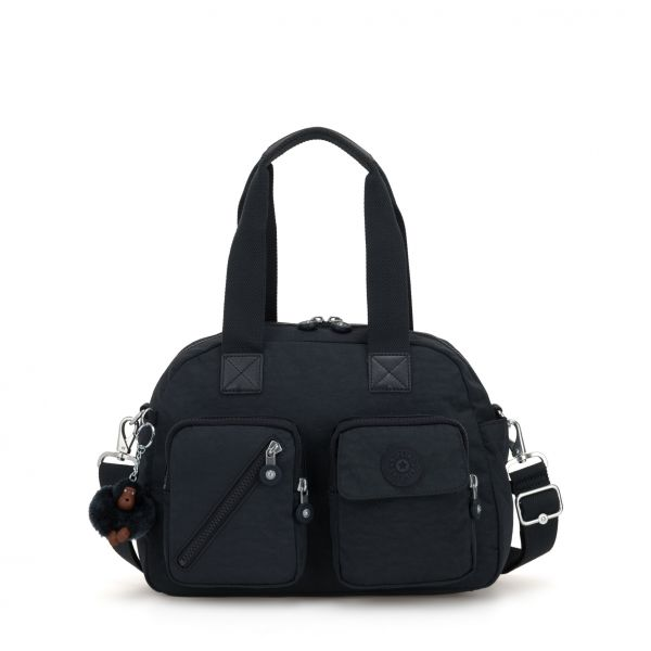 DEFEA UP True Navy SHOULDERBAGS by Kipling Front