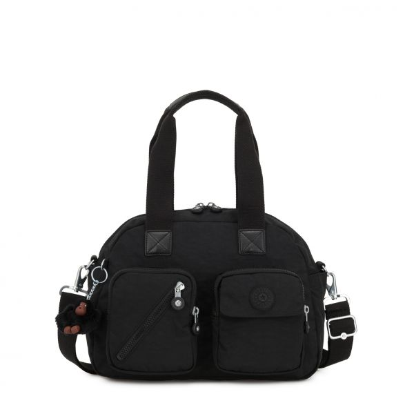 DEFEA UP True Black SHOULDERBAGS by Kipling Front