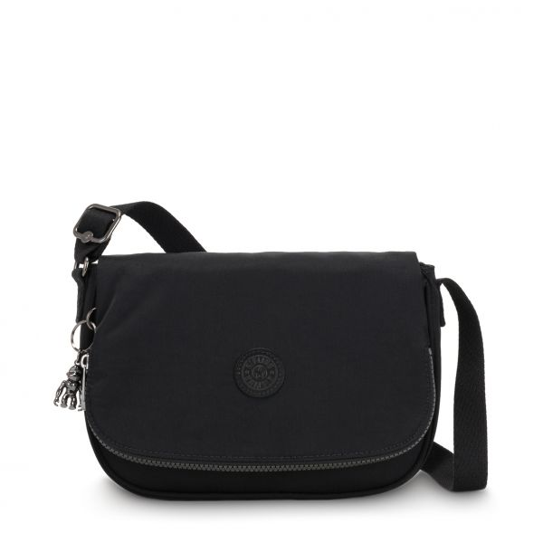 EARTHBEAT S Rich Black CROSSBODY by Kipling Front