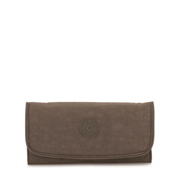 SUPERMONEY True Beige WALLETS by Kipling Front