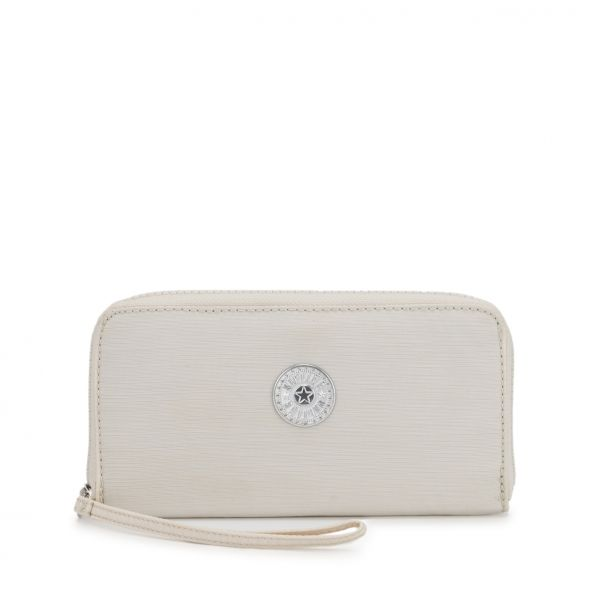 ALIA Dazz White WALLETS by Kipling Front