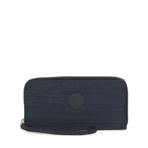 ALIA True Dazz Navy WALLETS by Kipling Front