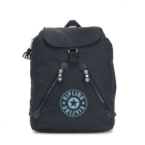 FUNDAMENTAL NC Lively Navy BACKPACKS by Kipling Front