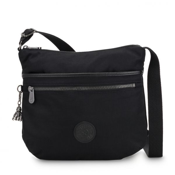 ARTO Rich Black CROSSBODY by Kipling Front