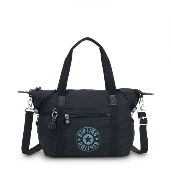 ART NC Lively Navy TOTE by Kipling Front