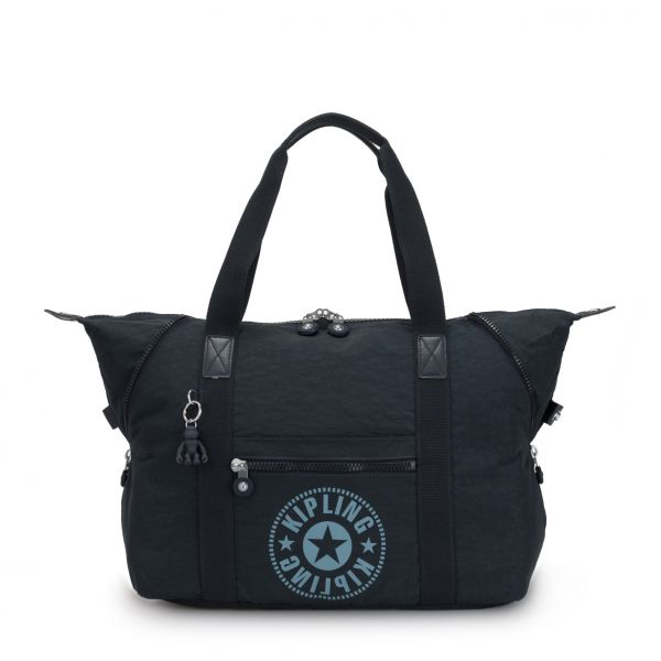 ART M Lively Navy TOTE by Kipling Front