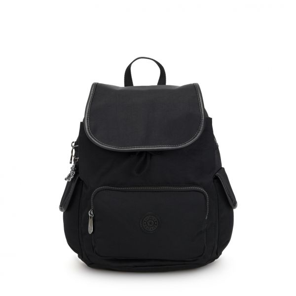 CITY PACK S Rich Black BACKPACKS by Kipling Back Front