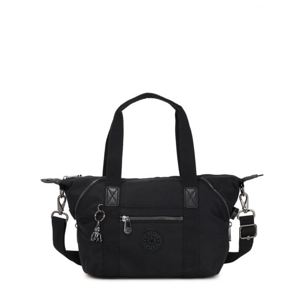ART MINI Rich Black SHOULDERBAGS by Kipling Front