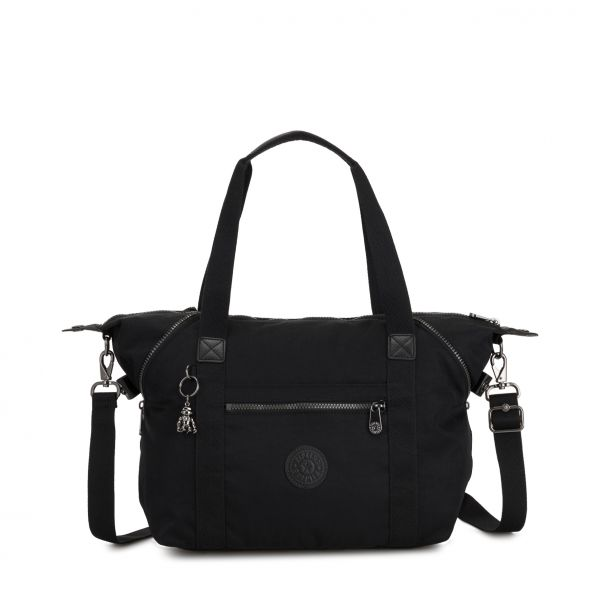 ART Rich Black TOTE by Kipling Front
