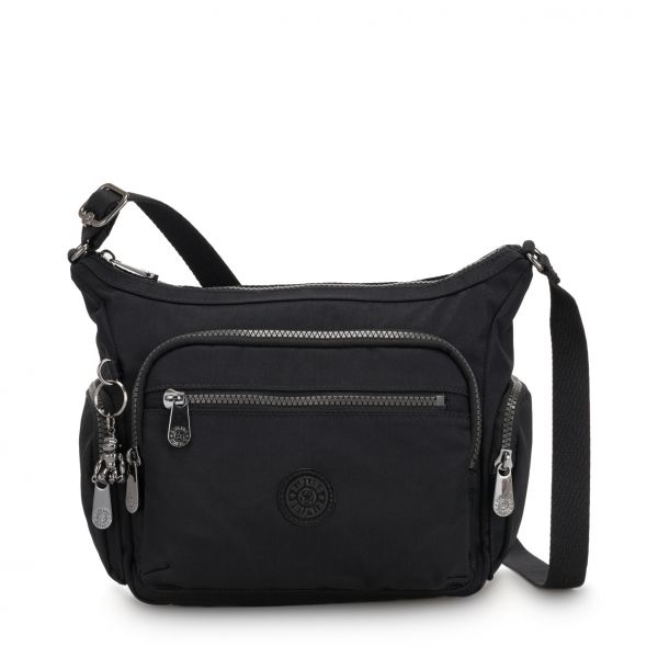 GABBIE S Rich Black CROSSBODY by Kipling Front