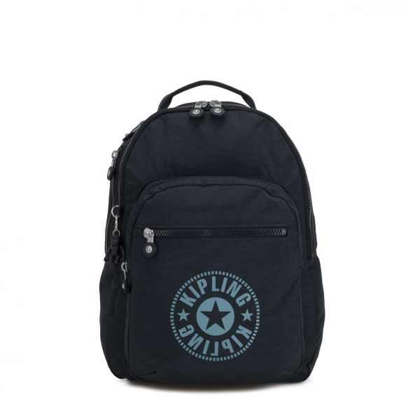CLAS SEOUL Lively Navy BACKPACKS by Kipling Front