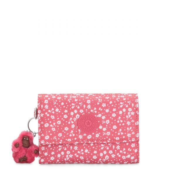 PIXI Dainty Daisies Pink WALLETS by Kipling Back