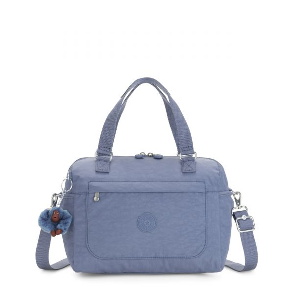 FLORA Blue Buzz SHOULDERBAGS by Kipling Back