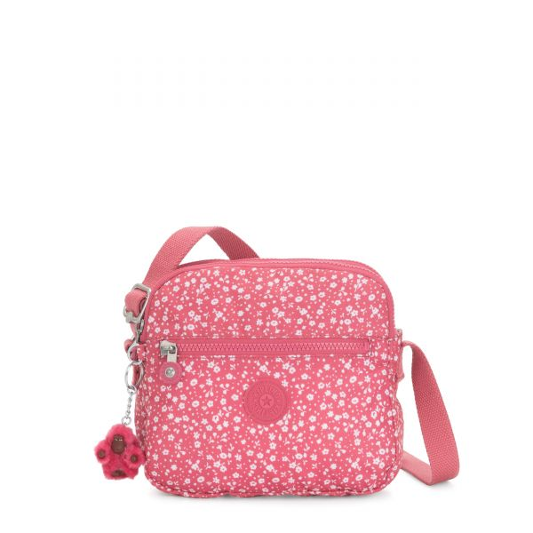 KEEFE Dainty Daisies Pink CROSSBODY by Kipling Back
