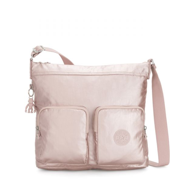 EIRENE Metallic Rose Femme Strap SHOULDERBAGS by Kipling Front