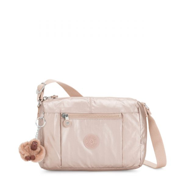 WES Quartz Metallic CROSSBODY by Kipling Back
