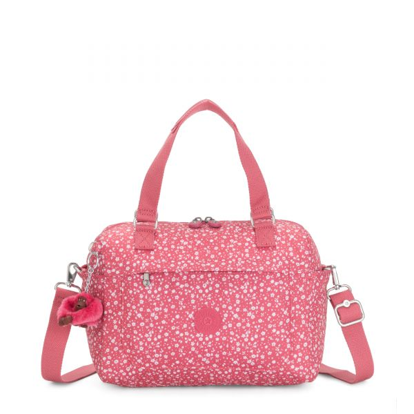 FLORA Dainty Daisies Pink SHOULDERBAGS by Kipling Back