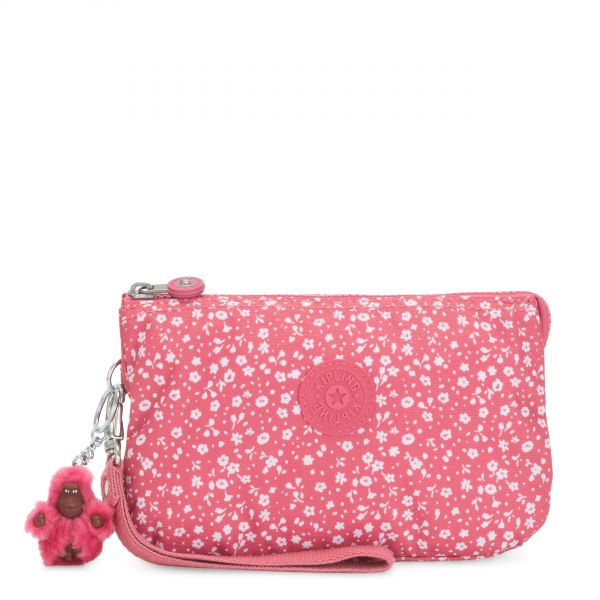 CREATIVITY XL Dainty Daisies Pink POUCHES/CASES by Kipling Back