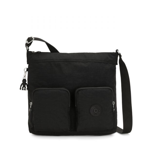 EIRENE True Black Femme Strap SHOULDERBAGS by Kipling Back