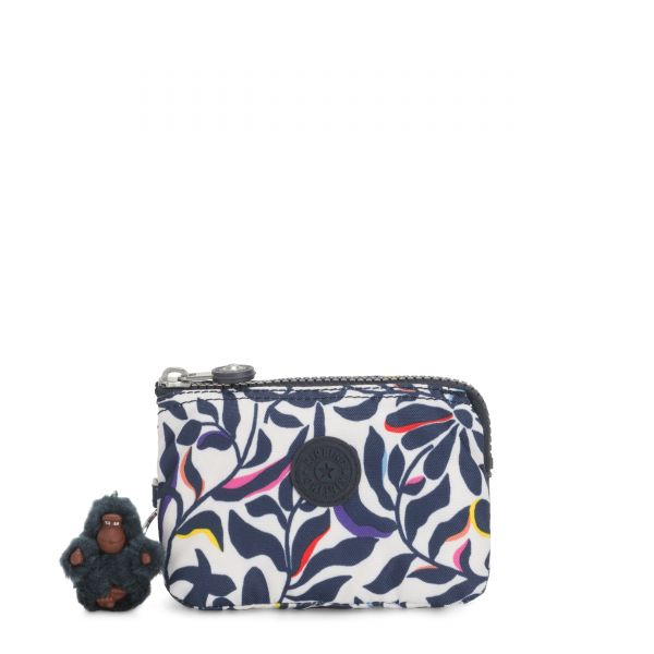 CREATIVITY S Floral Flourish POUCHES/CASES by Kipling Back