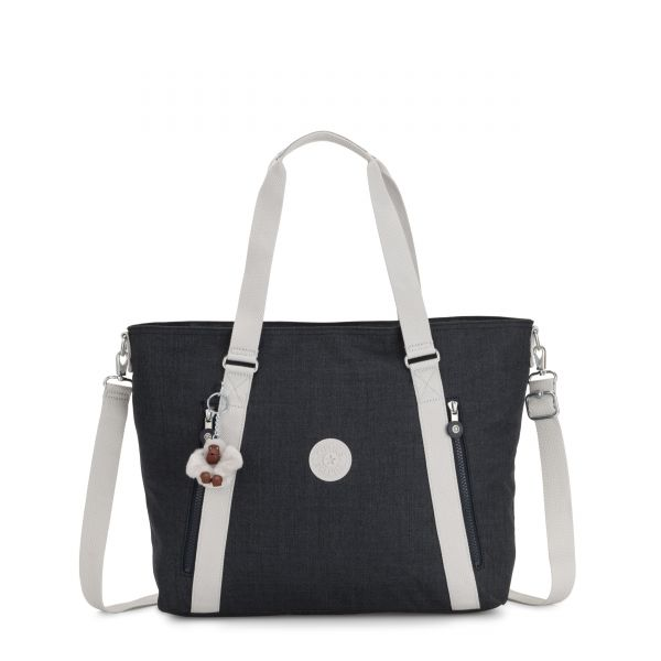SKYLER Blue Modern TOTE by Kipling Back