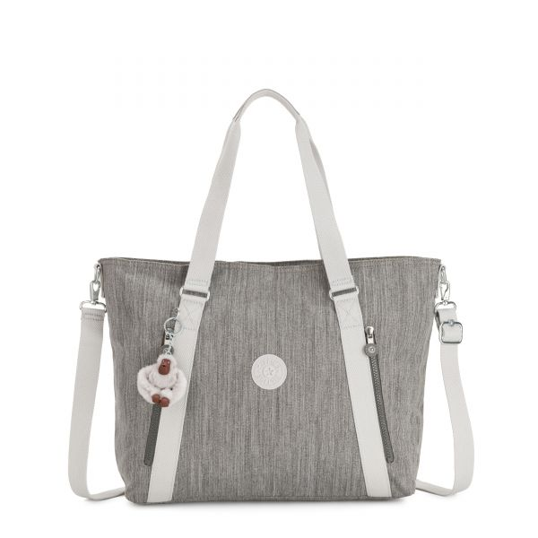 SKYLER Shaded Grey TOTE by Kipling Back