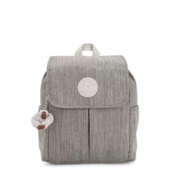 ROWAN Shaded Grey BACKPACKS by Kipling Back