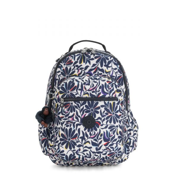 SEOUL GO Floral Flourish BACKPACKS by Kipling Back