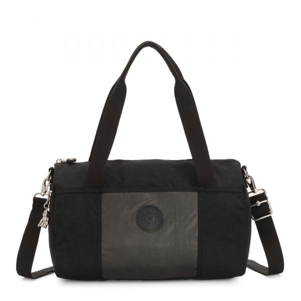 VITORIA METAL BLACK BLOCK SHOULDERBAGS by Kipling Inside