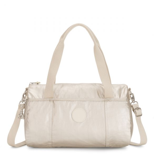 VITORIA CLOUD METAL SHOULDERBAGS by Kipling Front