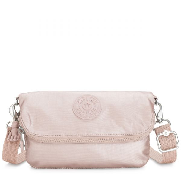 IBRI Metallic Rose Femme Strap POUCHES/CASES by Kipling Inside