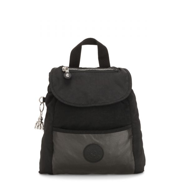 KALANI METAL BLACK BLOCK BACKPACKS by Kipling Inside