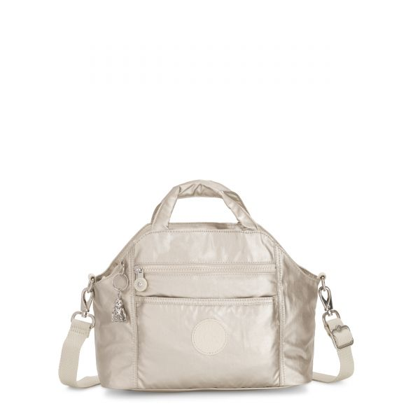MEORA CLOUD METAL TOTE by Kipling Inside