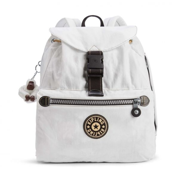 KEEPER White Uo BACKPACKS by Kipling Front