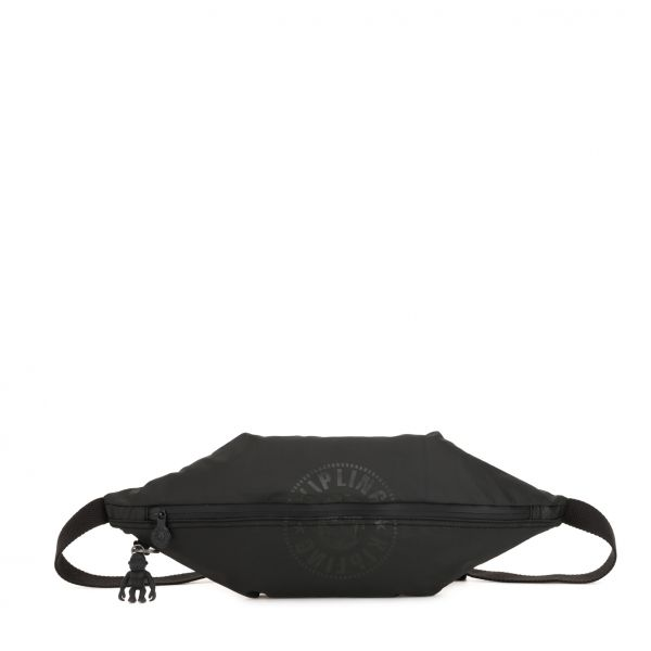 YOKU Raw Black CROSSBODY by Kipling Front