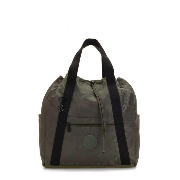 ART BACKPACK M Satin Camo BACKPACKS by Kipling Front