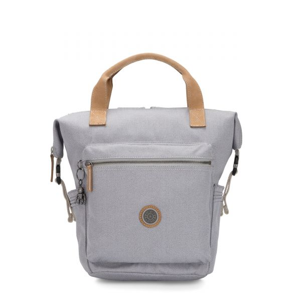 TSUKI S Rustic Blue BACKPACKS by Kipling Front