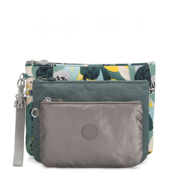 IAKA L WRISTLET Urban Jungle POUCHES/CASES by Kipling Front