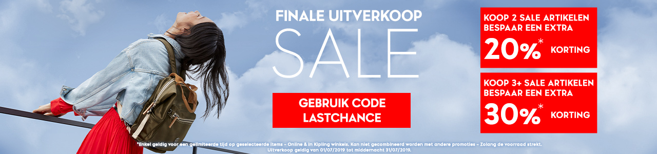 a3e27f450d1905 Kipling NL Sale | Online Tot 50% Korting