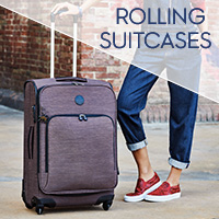 Discover all Rolling Suitcases